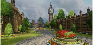 I worked on the Parliament building (Big Ben) in this shot.